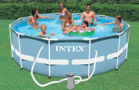 Каркасный бассейн 366х122 см Prism Frame Pool INTEX 28726